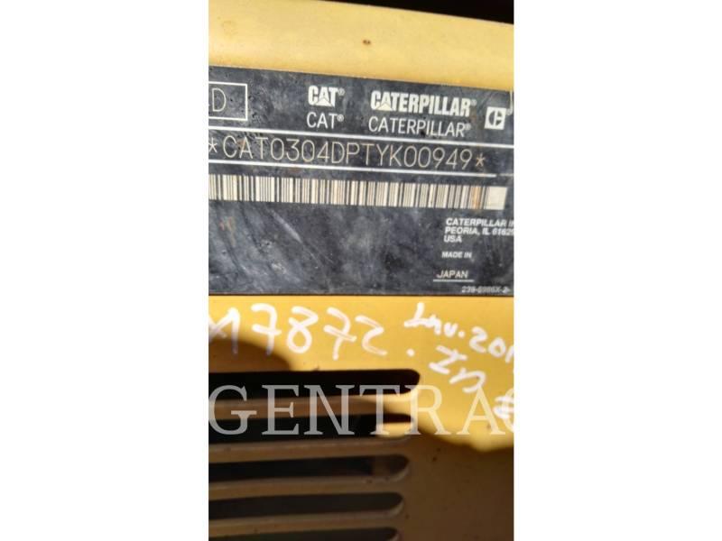 CATERPILLAR KETTEN-HYDRAULIKBAGGER 304DCR equipment  photo 1