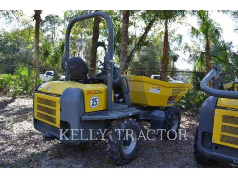WACKER CORPORATION VEHÍCULOS UTILITARIOS / VOLQUETES DUMPER3001 equipment  photo 2