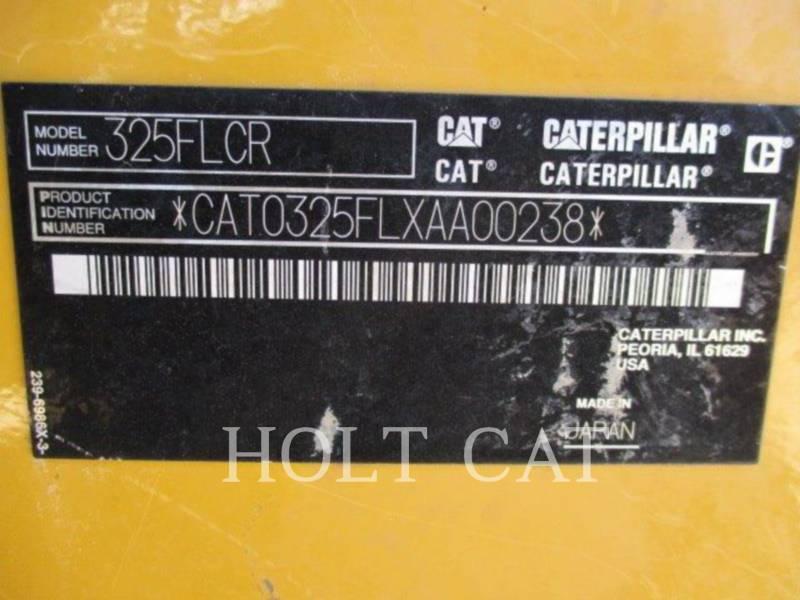 CATERPILLAR TRACK EXCAVATORS 325FLCR equipment  photo 5