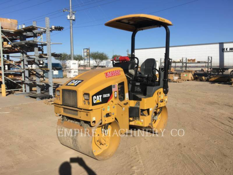 CATERPILLAR COMPACTEURS TANDEMS VIBRANTS CB22B equipment  photo 10