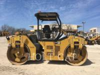 Equipment photo CATERPILLAR CB64B TANDEMOWY WALEC WIBRACYJNY DO ASFALTU (STAL-STAL) 1