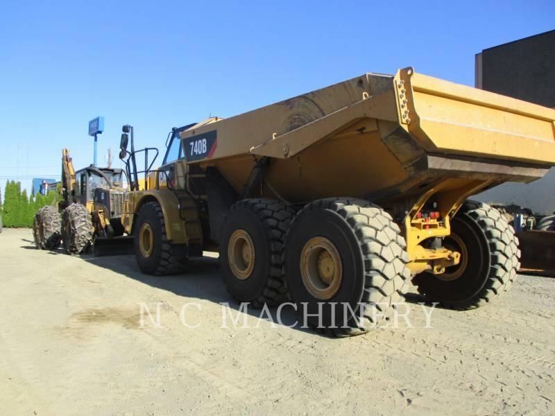 CATERPILLAR ARTICULATED TRUCKS 740B equipment  photo 6