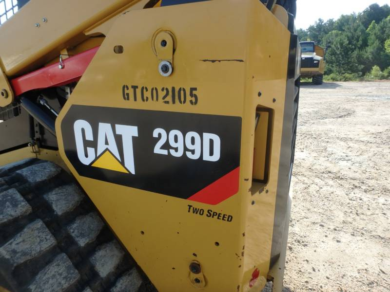 CATERPILLAR CHARGEURS TOUT TERRAIN 299D equipment  photo 18