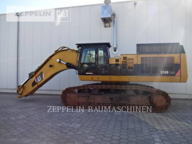 CATERPILLAR KOPARKI GĄSIENICOWE 374DL equipment  photo 2