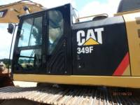 CATERPILLAR KETTEN-HYDRAULIKBAGGER 349FL equipment  photo 21