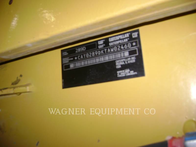 CATERPILLAR SKID STEER LOADERS 289D equipment  photo 5
