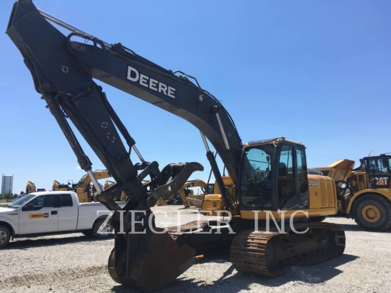 DEERE & CO. TRACK EXCAVATORS 200D equipment  photo 1