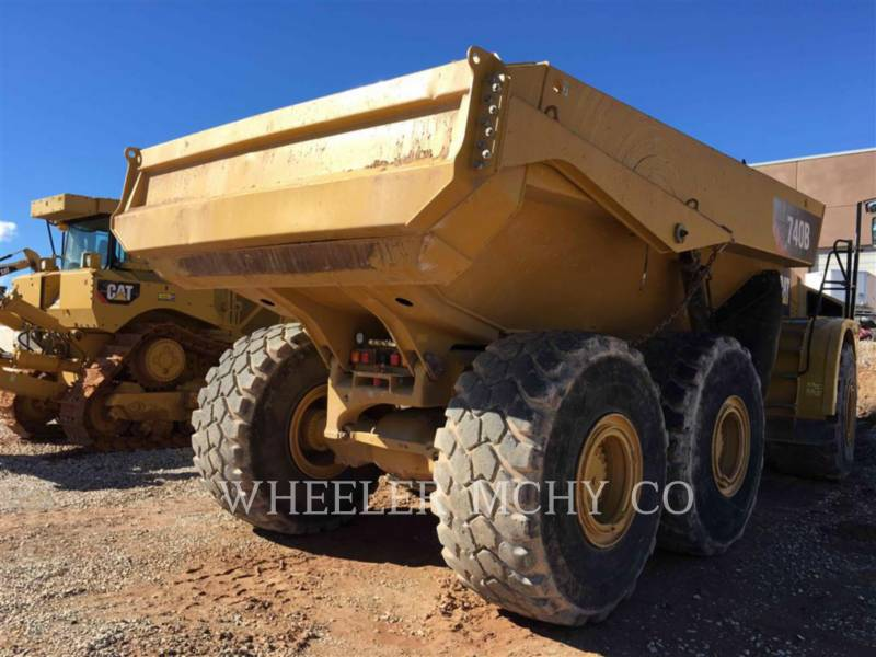 CATERPILLAR CAMIONES ARTICULADOS 740B TG equipment  photo 5