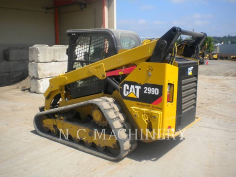 CATERPILLAR 多様地形対応ローダ 299D1 H3CB equipment  photo 3