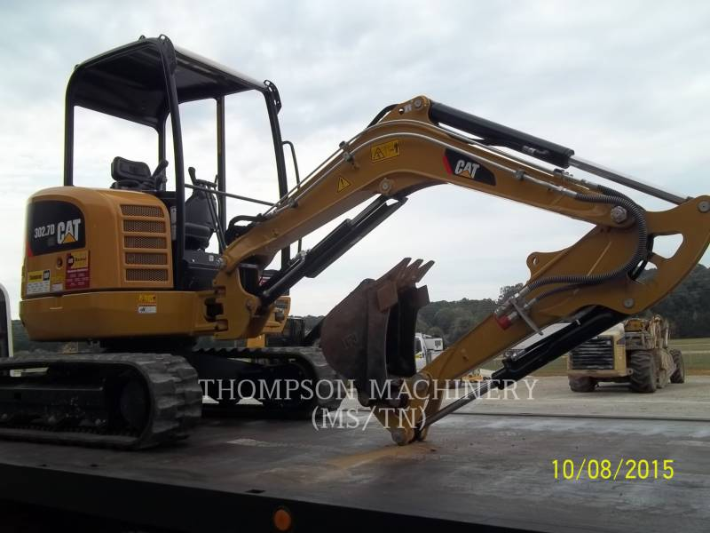CATERPILLAR TRACK EXCAVATORS 302.7D equipment  photo 1