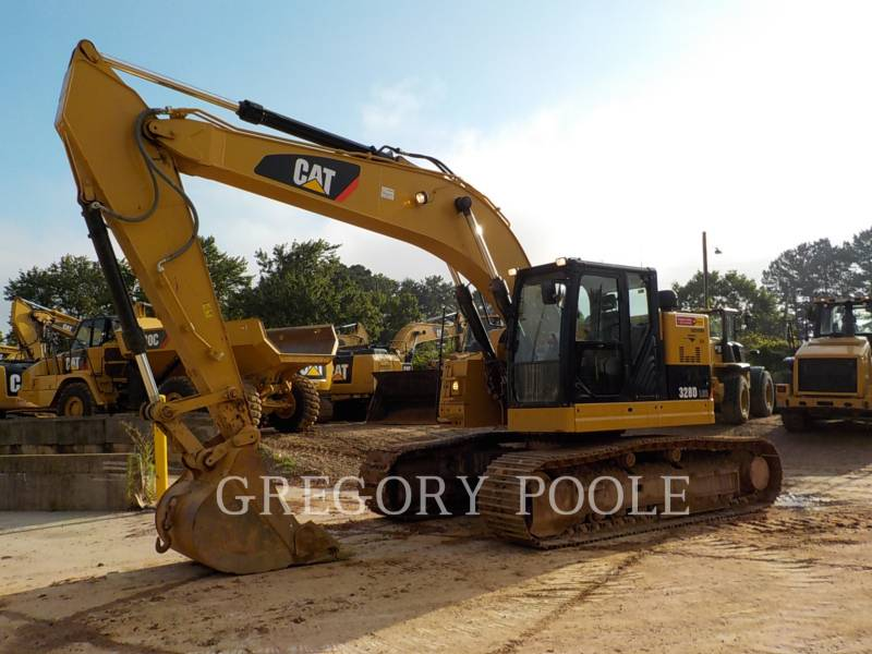 CATERPILLAR TRACK EXCAVATORS 328D LCR equipment  photo 1