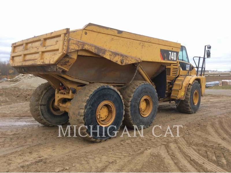CATERPILLAR TOMBEREAUX ARTICULÉS 740 T equipment  photo 3