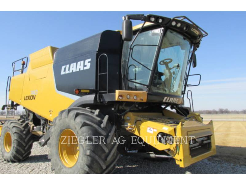 LEXION COMBINE COMBINADOS 740 equipment  photo 16