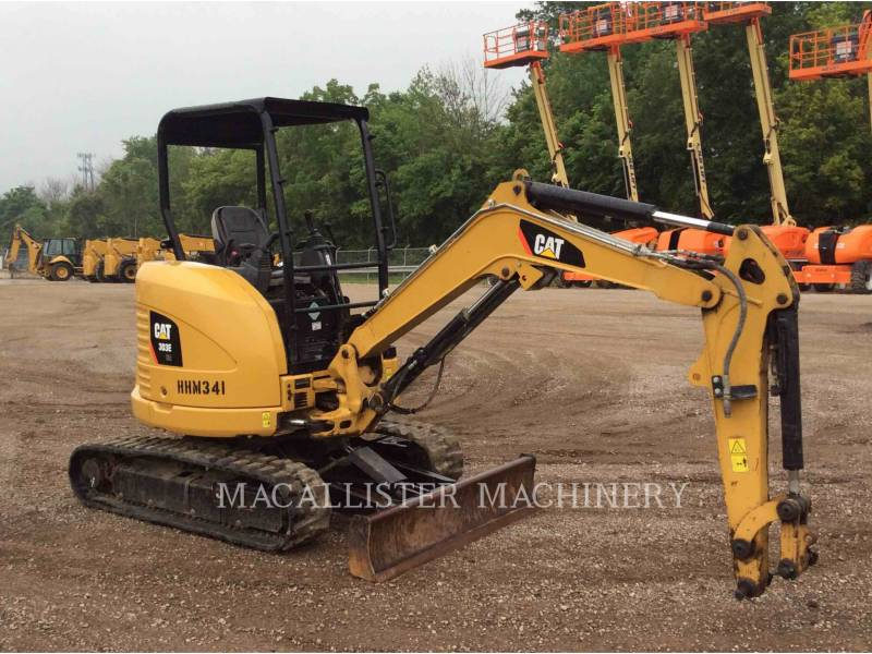 CATERPILLAR TRACK EXCAVATORS 303E equipment  photo 2