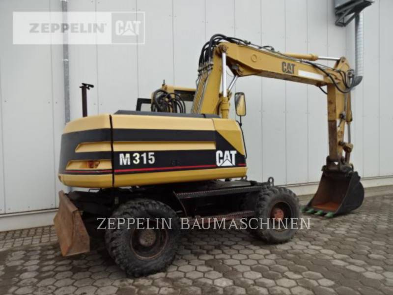 CATERPILLAR PELLES SUR PNEUS M315 equipment  photo 7