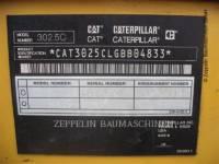 CATERPILLAR TRACK EXCAVATORS 302.5C equipment  photo 2