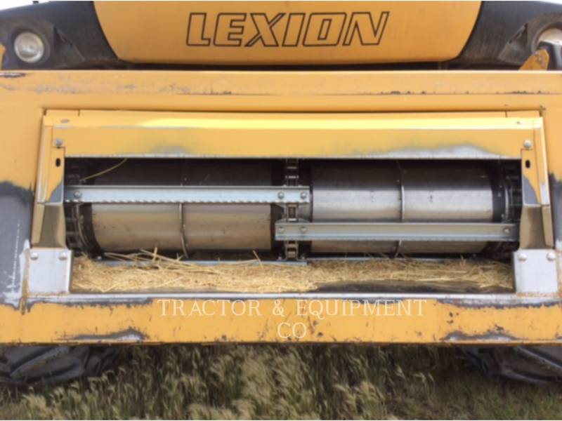 LEXION COMBINE COMBINES LX580R equipment  photo 11