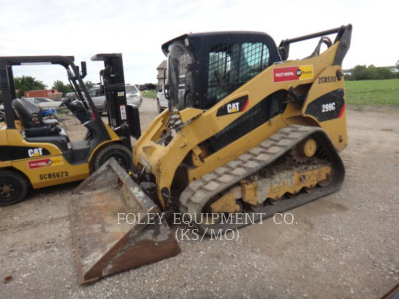CATERPILLAR MULTI TERRAIN LOADERS 299C equipment  photo 1