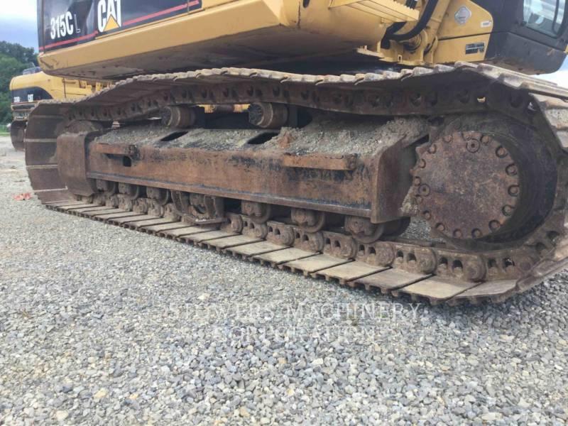 CATERPILLAR TRACK EXCAVATORS 315CL equipment  photo 12