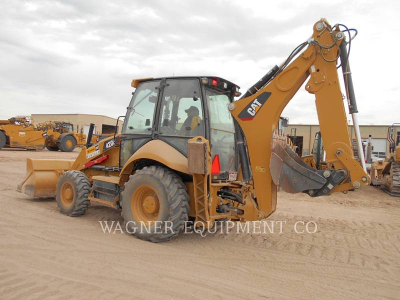 CATERPILLAR RETROEXCAVADORAS CARGADORAS 420F 4WDE equipment  photo 3