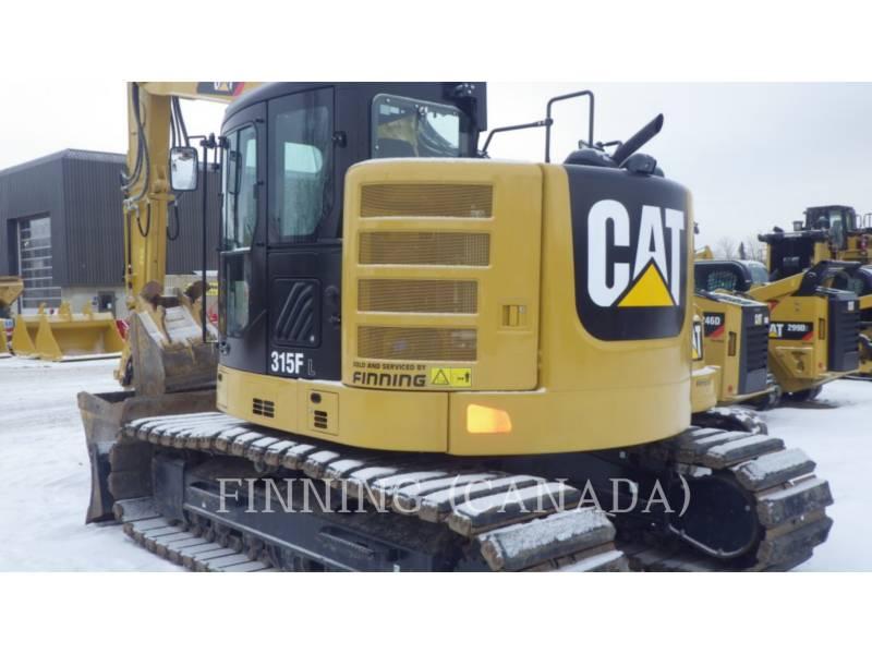 CATERPILLAR トラック油圧ショベル 315F equipment  photo 2
