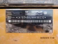 CATERPILLAR KETTEN-HYDRAULIKBAGGER 340 D2 L equipment  photo 6