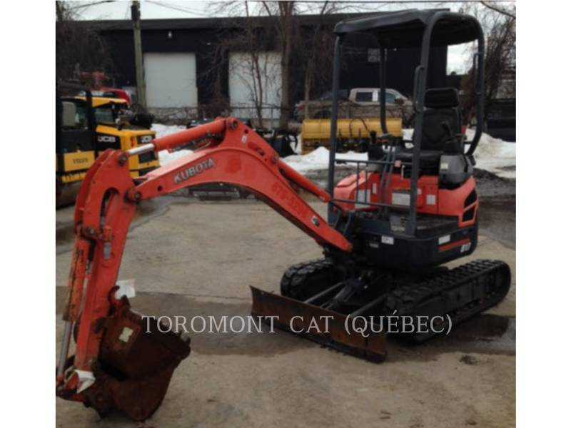 KUBOTA CORPORATION EXCAVADORAS DE CADENAS U17 equipment  photo 5