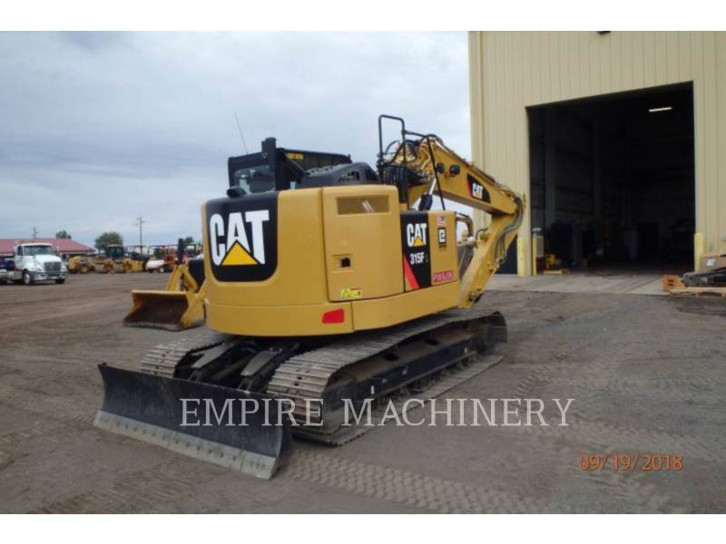 CATERPILLAR TRACK EXCAVATORS 315FLCR equipment  photo 2
