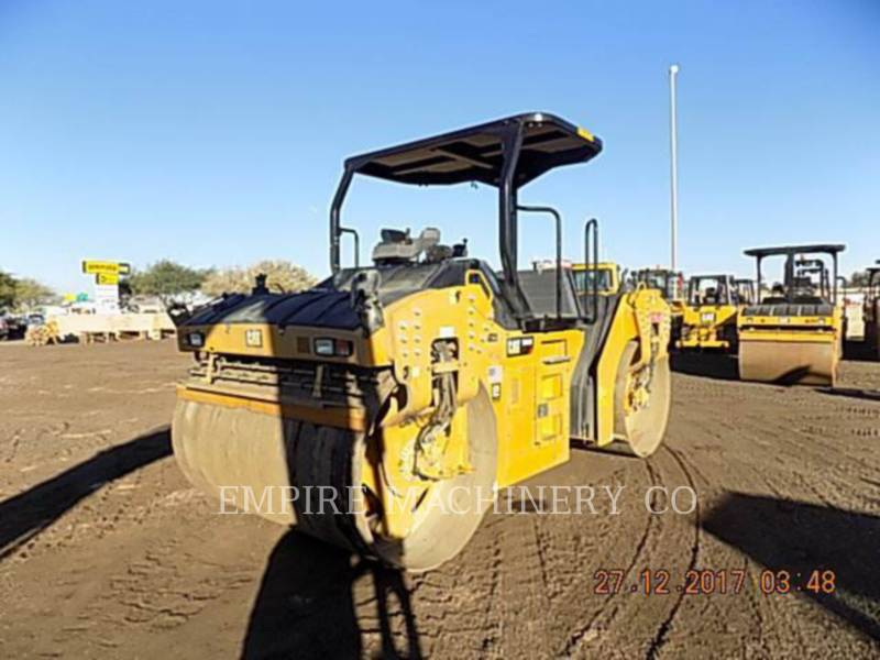 CATERPILLAR TAMBOR DOBLE VIBRATORIO ASFALTO CB66B equipment  photo 2