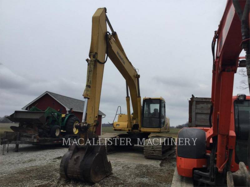KOMATSU TRACK EXCAVATORS PC220LC equipment  photo 3