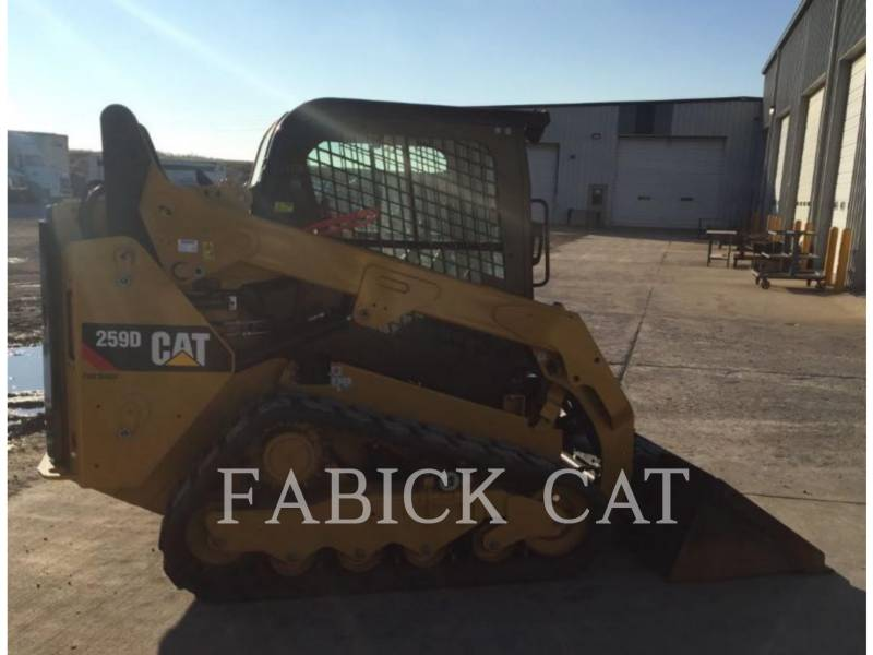 CATERPILLAR MULTI TERRAIN LOADERS 259D C3H2 equipment  photo 2
