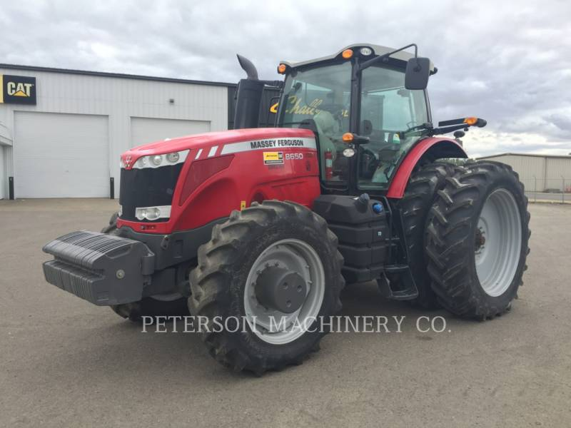 AGCO-MASSEY FERGUSON CIĄGNIKI ROLNICZE MF8650 equipment  photo 1