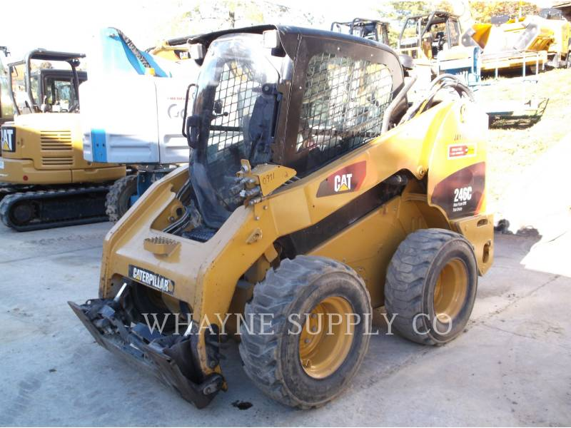 CATERPILLAR MINICARGADORAS 246C XPS equipment  photo 1
