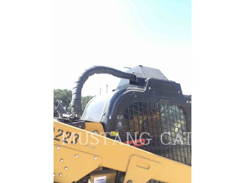 CATERPILLAR CARGADORES MULTITERRENO 299D2XHP equipment  photo 8