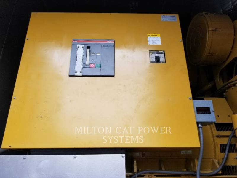 CATERPILLAR STATIONARY GENERATOR SETS D3508-1000 KW equipment  photo 4