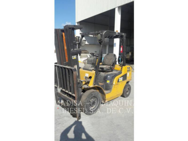 MITSUBISHI CATERPILLAR FORKLIFT FORKLIFTS 2P5000GLP equipment  photo 1