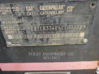 CATERPILLAR TAMBOR DOBLE VIBRATORIO ASFALTO CB-334D equipment  photo 22