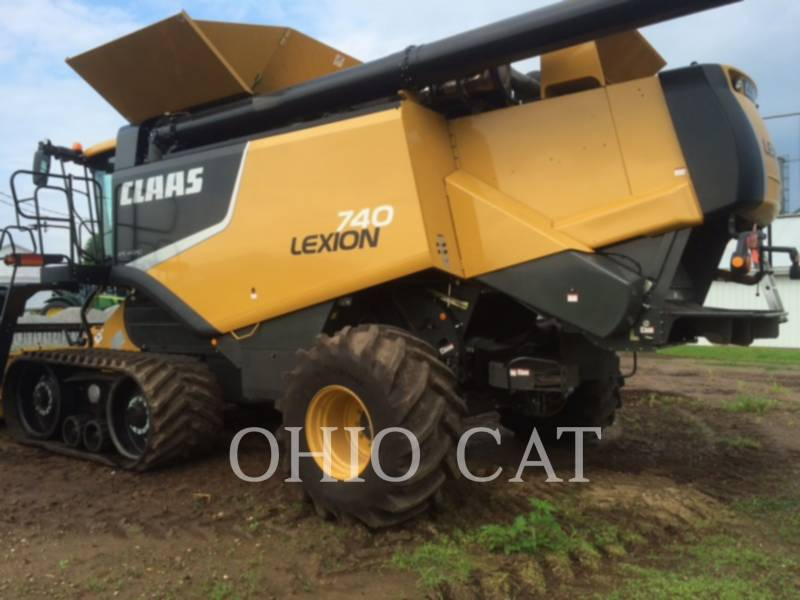 CLAAS OF AMERICA KOMBAJNY LEX740TTFR equipment  photo 2