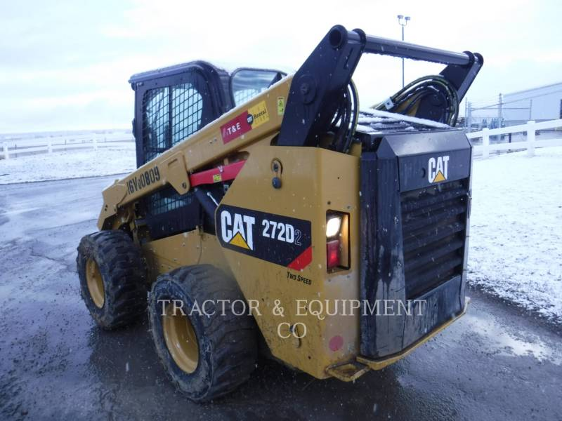CATERPILLAR SKID STEER LOADERS 272D2 H2CB equipment  photo 5