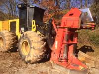 Equipment photo CATERPILLAR 553C 林業 - フェラー・バンチャ - ホイール 1
