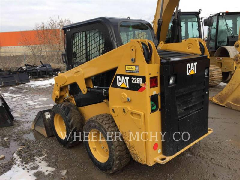 CATERPILLAR SKID STEER LOADERS 226D C3 equipment  photo 3