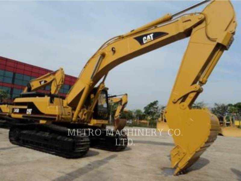 CATERPILLAR EXCAVADORAS DE CADENAS 345B equipment  photo 1
