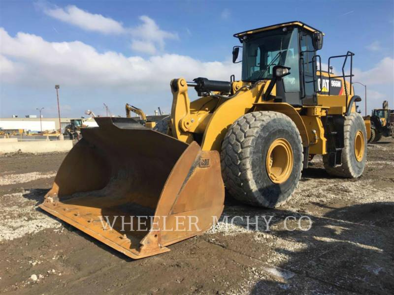 CATERPILLAR CARGADORES DE RUEDAS 966M QC equipment  photo 1