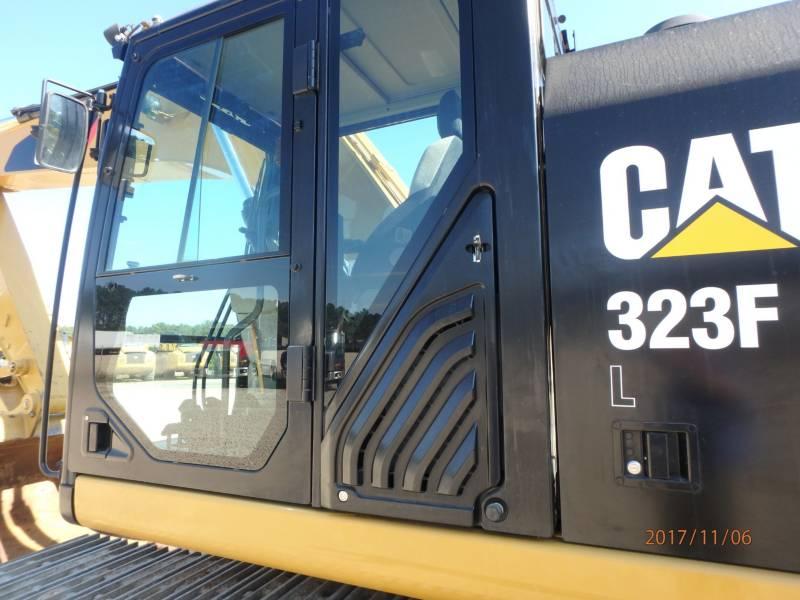 CATERPILLAR TRACK EXCAVATORS 323FL equipment  photo 24