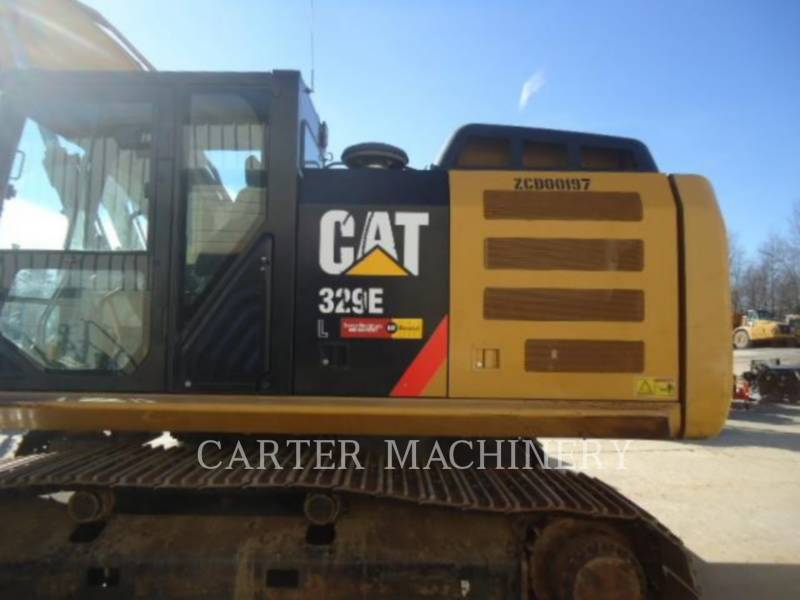 CATERPILLAR TRACK EXCAVATORS 329 E L equipment  photo 6