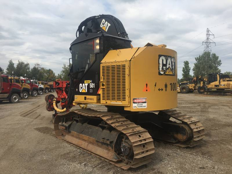 CATERPILLAR FORESTRY - FELLER BUNCHERS - TRACK 501HD equipment  photo 3