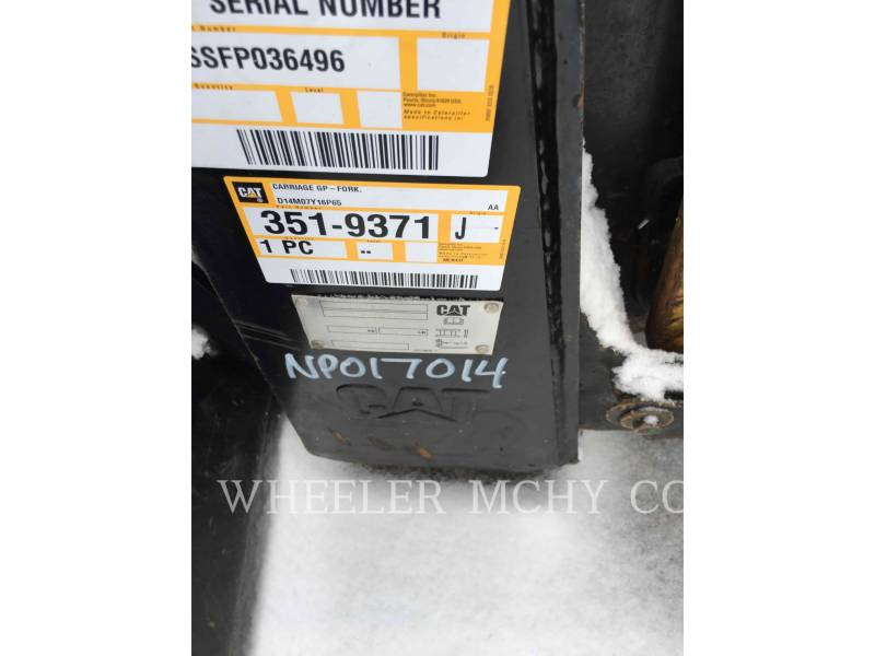 CATERPILLAR SKID STEER LOADERS 262D C3-H2 equipment  photo 7