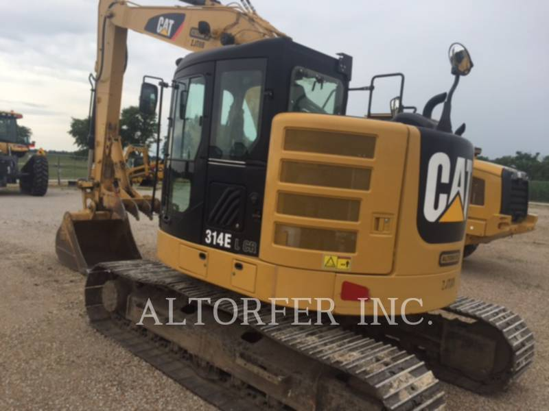 CATERPILLAR TRACK EXCAVATORS 314EL CRTH equipment  photo 4