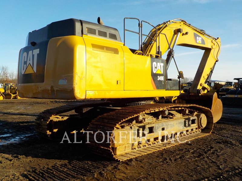 CATERPILLAR KETTEN-HYDRAULIKBAGGER 349ELVG equipment  photo 6