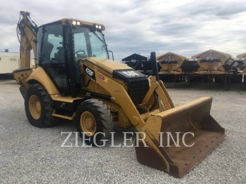 CATERPILLAR CHARGEUSES-PELLETEUSES 420FH2 equipment  photo 2